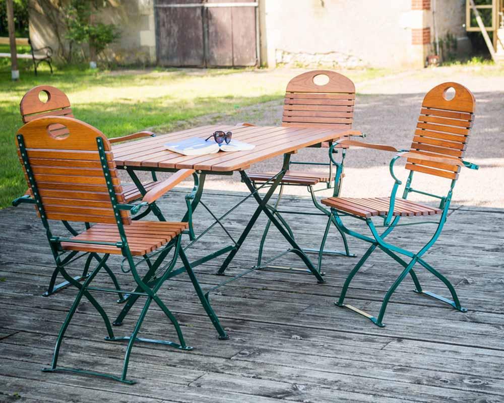 Mobilier de jardin - Foresta - une réponse très complète ...