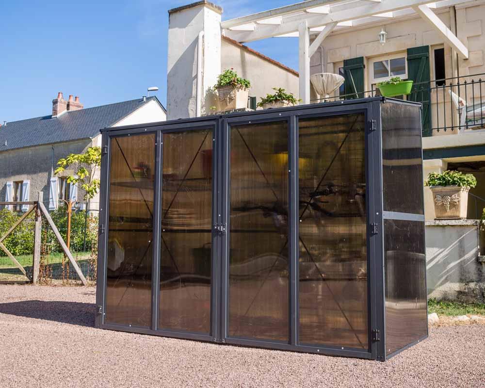abris multifonctions foresta une r ponse tr s compl te autour de l 39 am nagement ext rieur. Black Bedroom Furniture Sets. Home Design Ideas