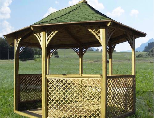 Pavillon octogonal de luxe – KI M36.
