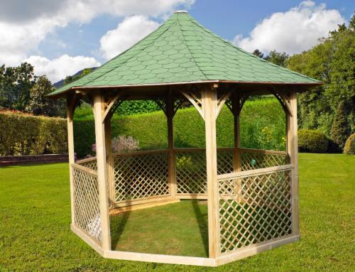Pavillon octogonal de luxe – KI C35.