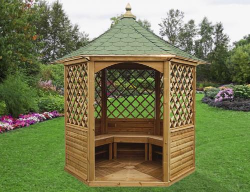 Pavillon hexagonal élégant – KI H28.01
