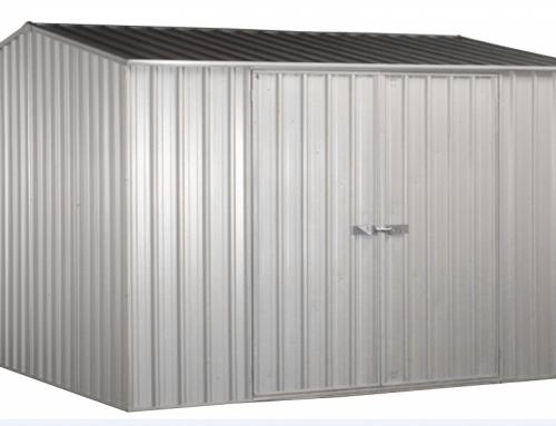 Abri métal toit 2 pentes – AB 3030.02.
