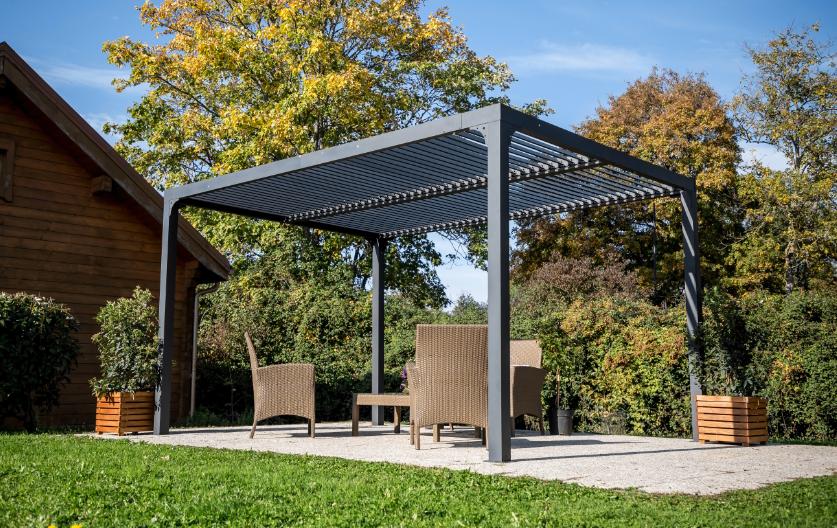 Pergola Bioclimatique Structure Aluminium Per3630bi
