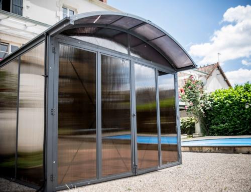 Abri de jardin fermé aluminium – AAL 3024. 4C