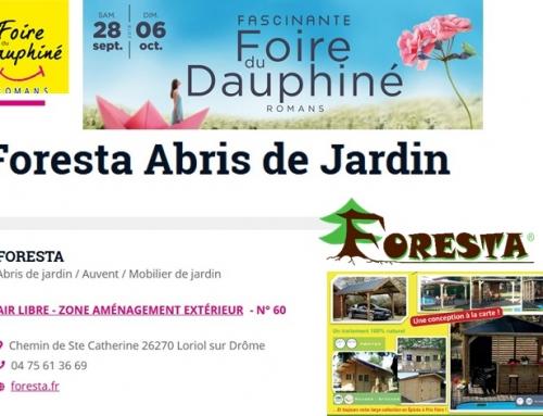 Foire du Dauphiné (26) du 28 septembre au 06 octobre